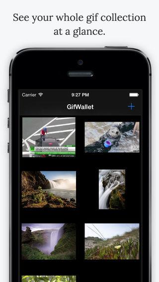 GIF Wallet app