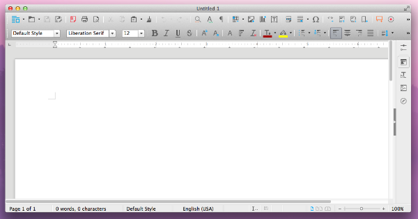 LibreOffice Word