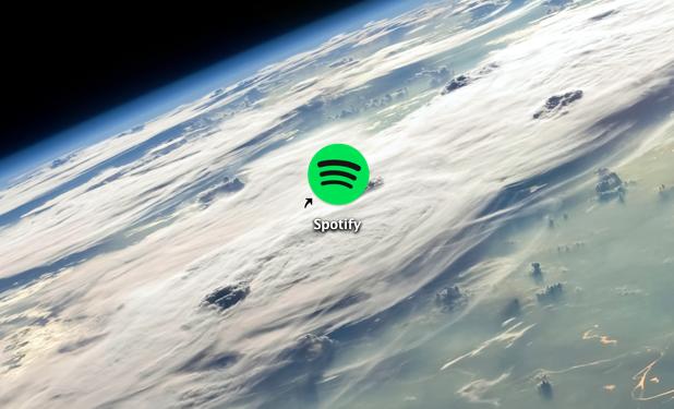 Spotify on a Mac
